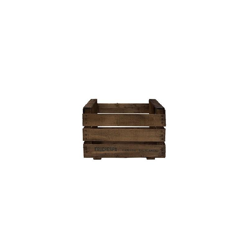 Caja de madera antigua envejecida venta de todo tipo de - Cajas de madera online ...