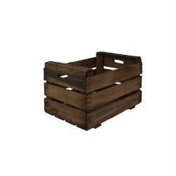 Pack 6 cajas de madera antigua envejecida