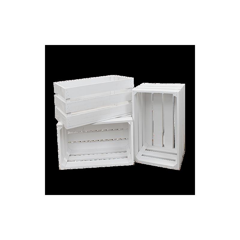 pack cajas color blanco grandes