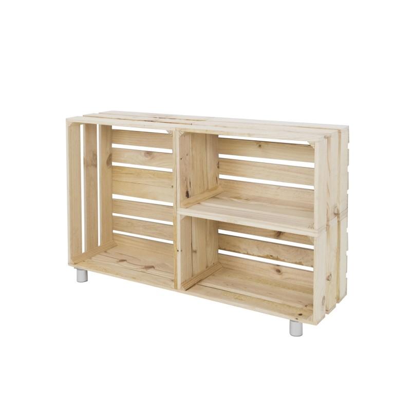 Mueble tv natural venta de todo tipo de cajas de madera - Muebles de madera natural ...