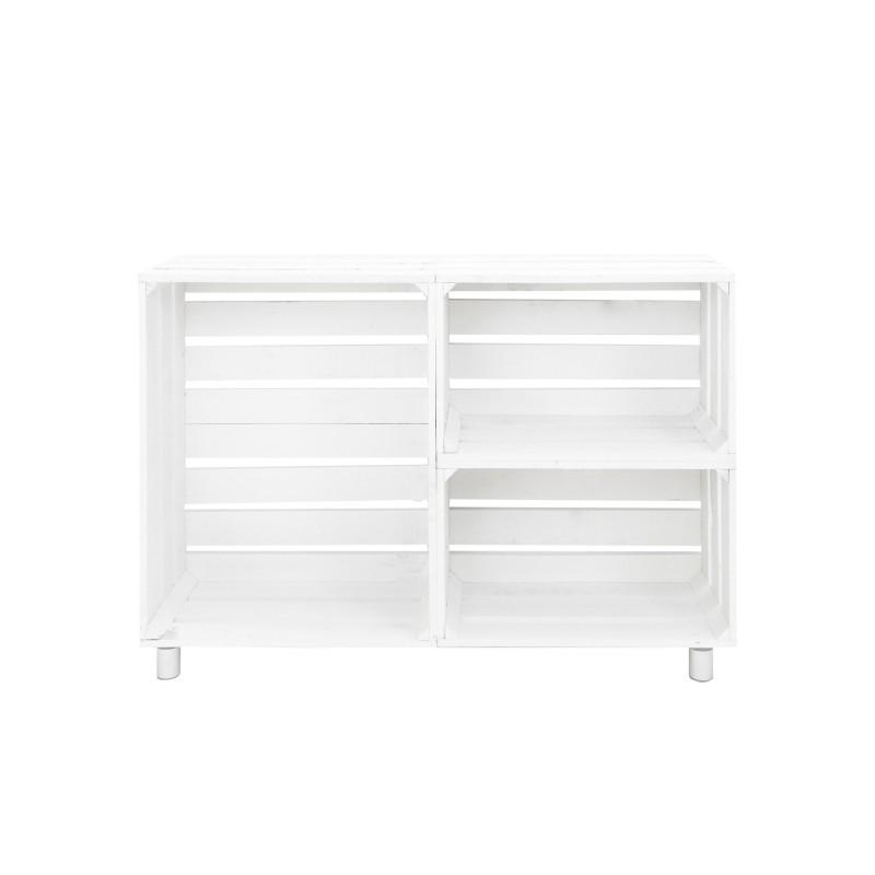 Mueble tv blanco venta de todo tipo de cajas de madera for Mueble tv blanco y madera