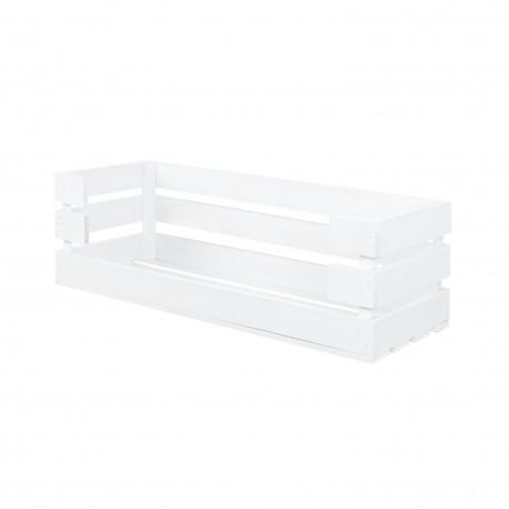 Caja con apertura grande blanca