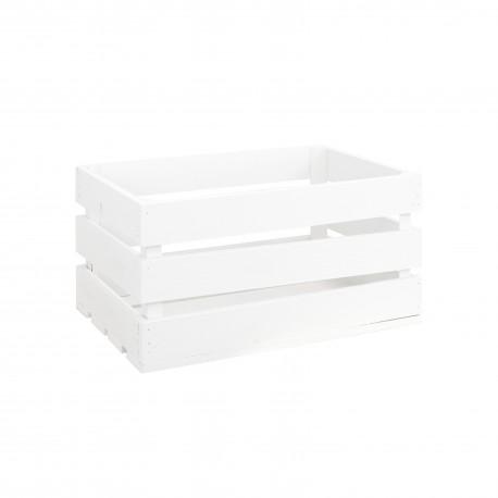 Caja grande pintada blanca venta de todo tipo de cajas for Cajas de madera blancas