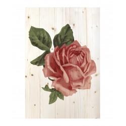 Cuadro vertical rosa