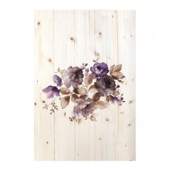 Cuadro vertical flores