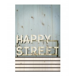 Cuadro vertical happy street