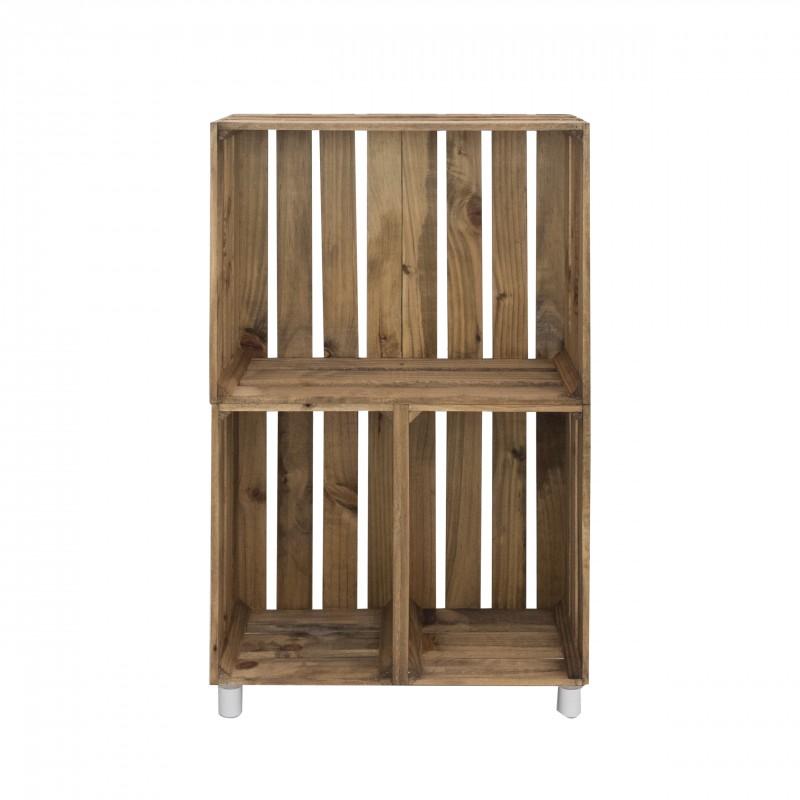 Mueble estanter a vertical envejecido venta de todo tipo for Estanteria vertical