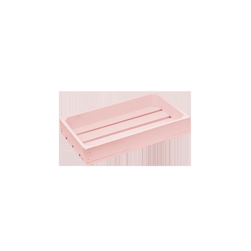 Pack 5 cajas peque as rosa venta de todo tipo de cajas de for Cajas de madera pequenas
