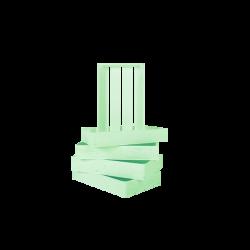 Pack 5 cajas pequeñas color verde agua