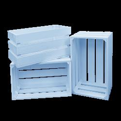 Pack 3 cajas grandes color azul claro