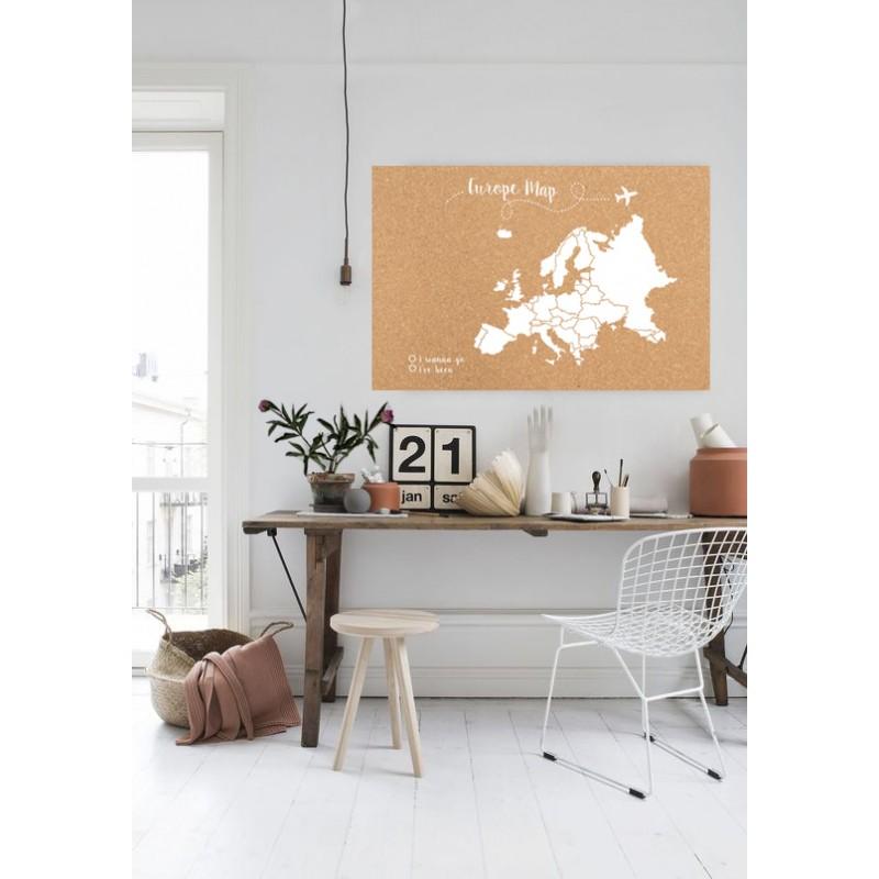 Corcho mapa de europa blanco venta de todo tipo de cajas - Laminas de corcho blanco ...
