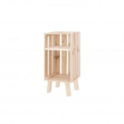 Mesita Box vertical natural