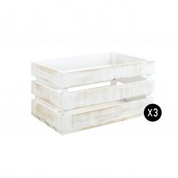 Pack 3 cajas grandes decapadas