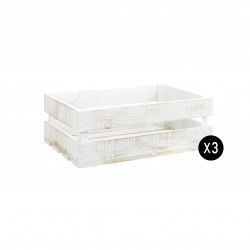 Pack 3 cajas medianas decapadas
