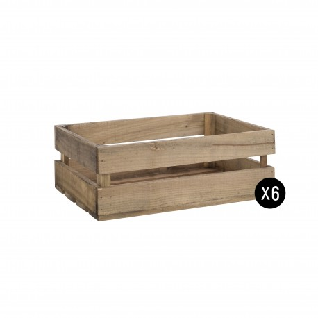 PACK 6 cajas medianas