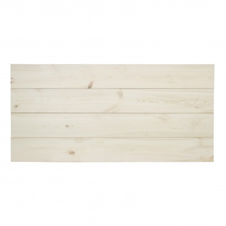 Cabecero horizontal recto natural flandes