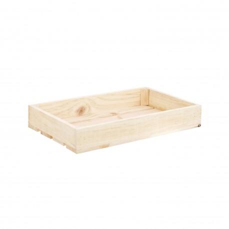 Caja natural pequeña, cajas de madera