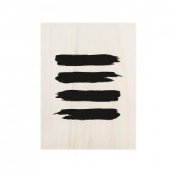 Cuadro de madera Abstract Stud