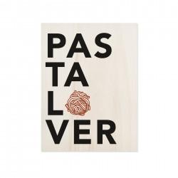 Cuadro de madera Pasta Lover