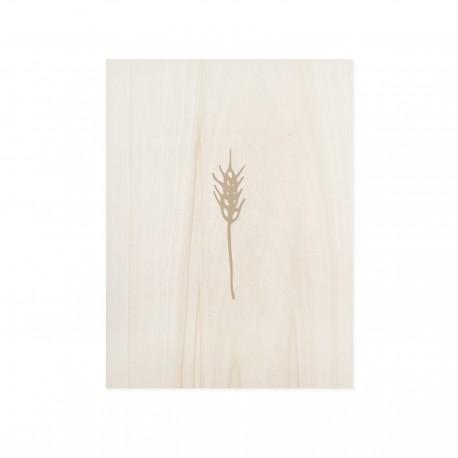 Cuadro de madera Leaves