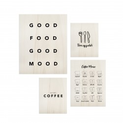 Pack de cuadros Food Lover