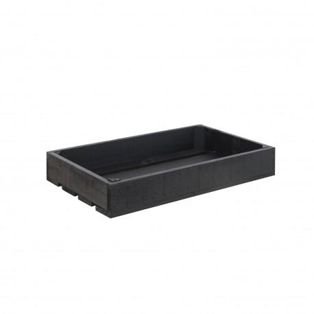 Caja Pequeña Pintada negro