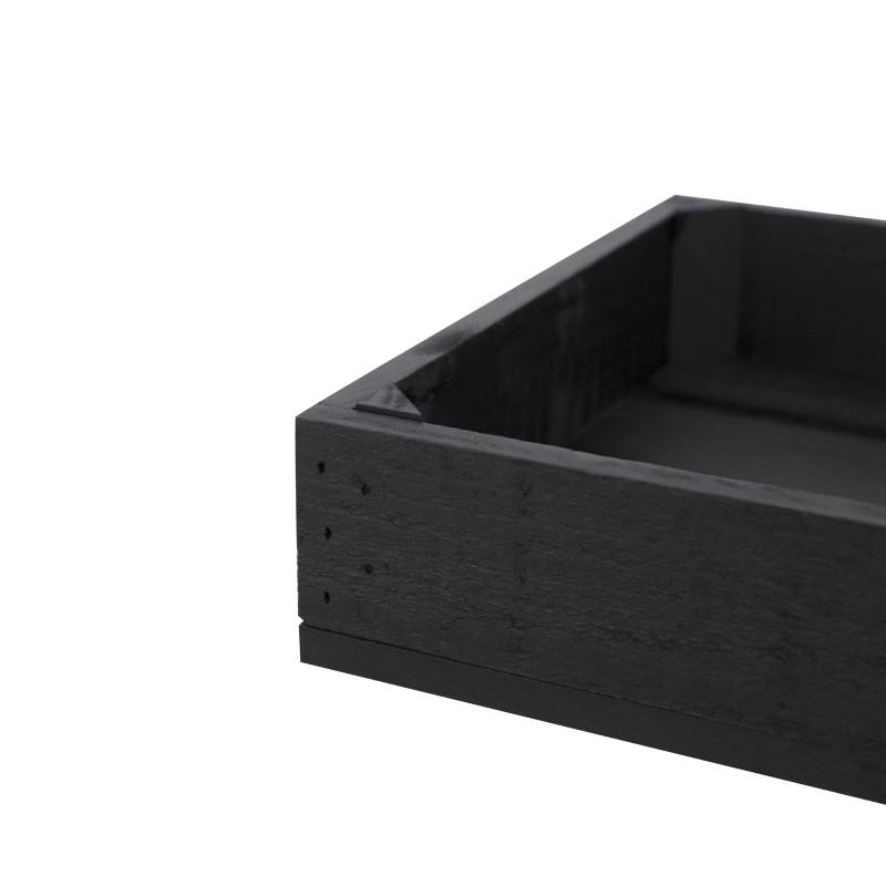 Caja peque a pintada negro venta de todo tipo de cajas - Cajas de madera online ...