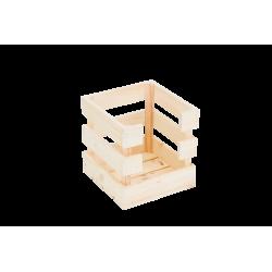 Caja con apertura pequeña natural