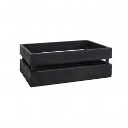 Caja Mediana pintada negro