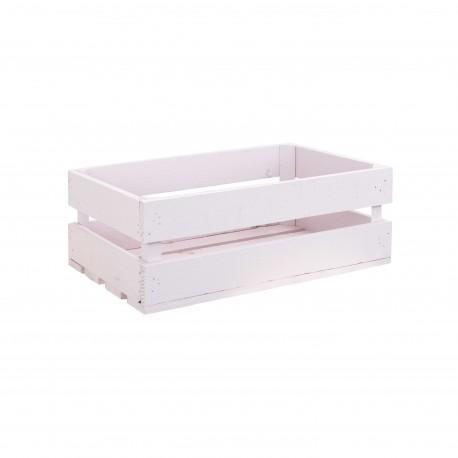 Caja Mediana pintada rosa pastel