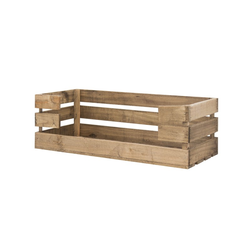 Caja con apertura grande envejecida venta de todo tipo de cajas de madera online - Cajas de madera online ...