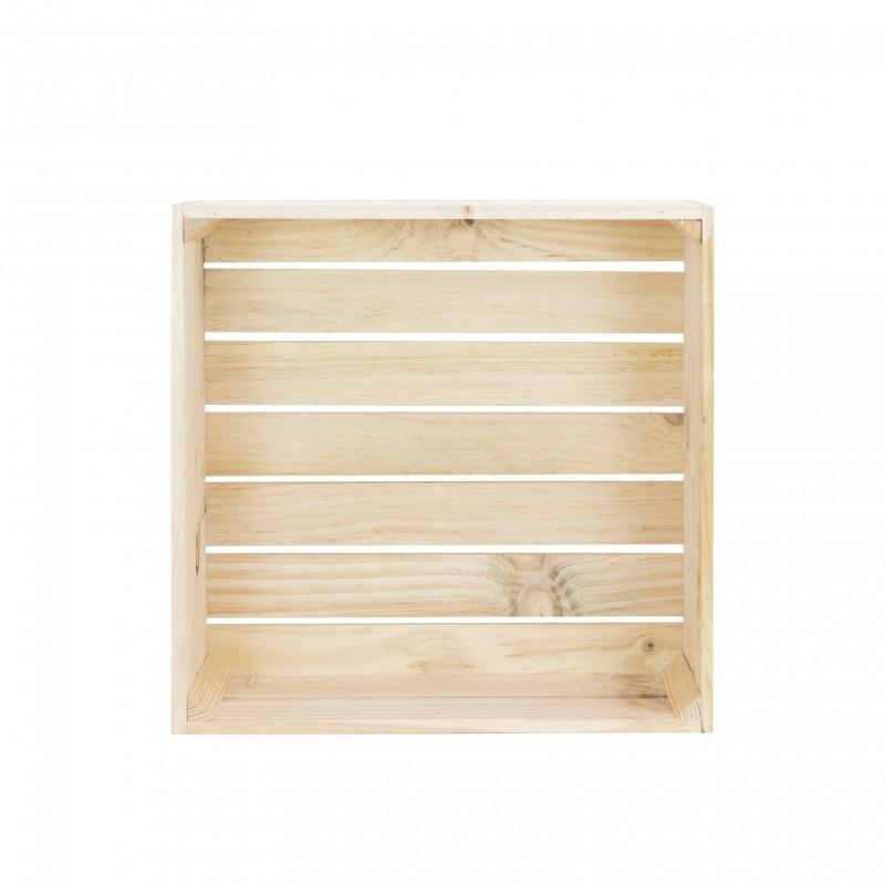 Caja cuadrada grande natural venta de todo tipo de cajas de madera online - Cajas de madera online ...