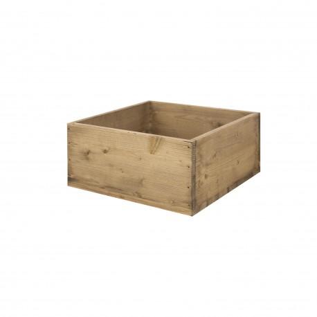 Caja cubo grande envejecido venta de todo tipo de cajas - Cajas de madera online ...