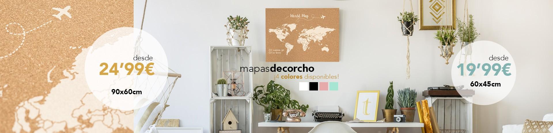 Novedad Mapas Corcho