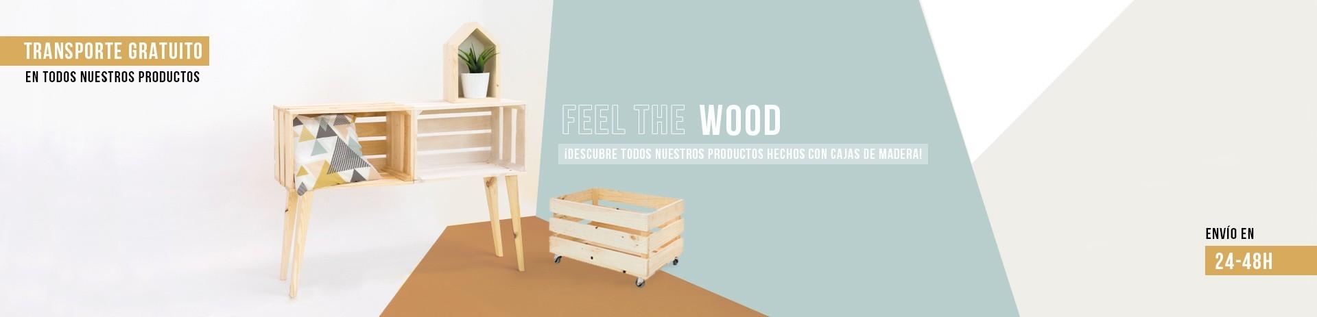 Descubre todos nuestros productos hechos con madera de primera calidad